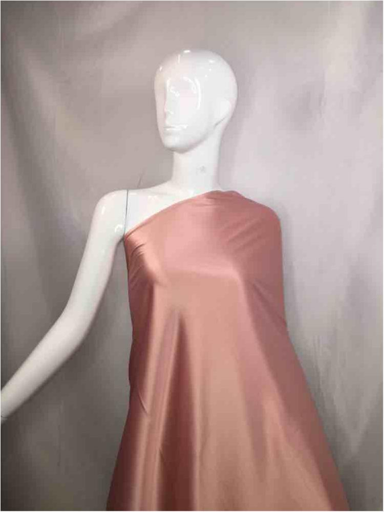 2031 / 54-ROSE / 97% Poly 3%SP STRETCH BRIDAL SATIN 360-370 GSM