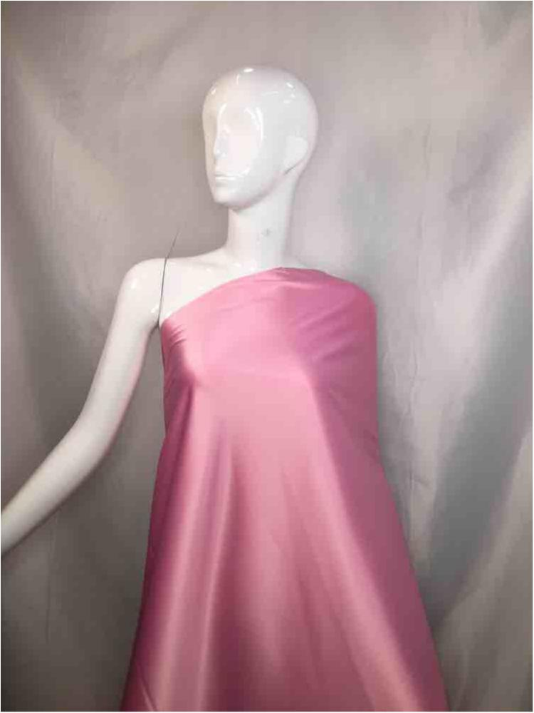 2031 / 06-PINK / 97% Poly 3%SP STRETCH BRIDAL SATIN 360-370 GSM