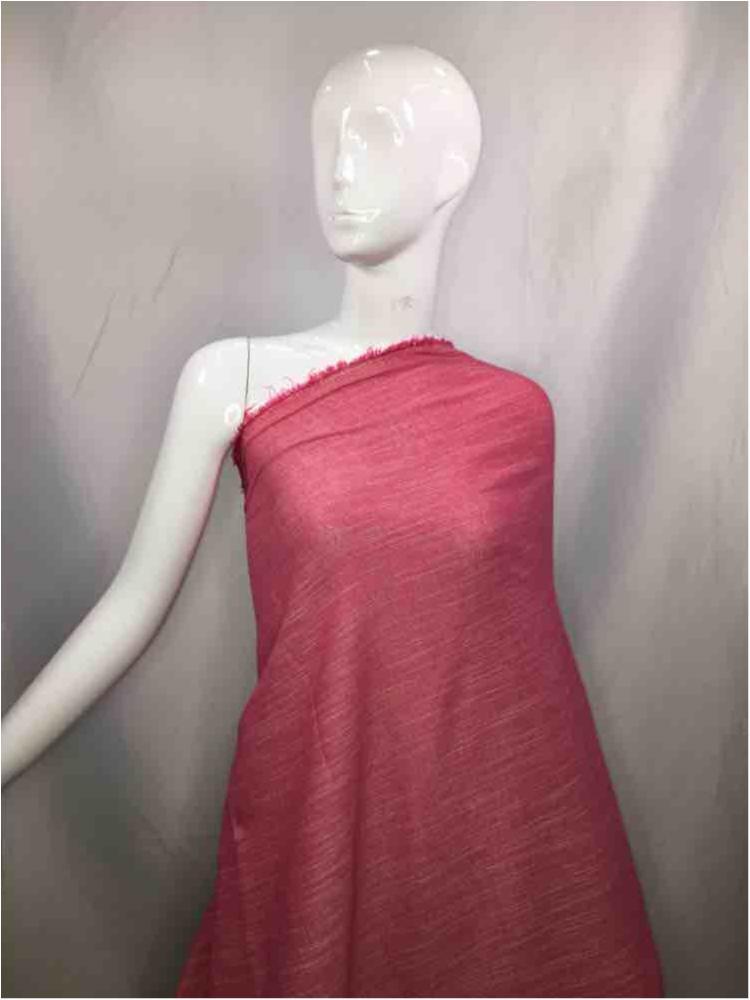 LINPR-1745 / 01.PINK / Polyster Linen Yarn Dye