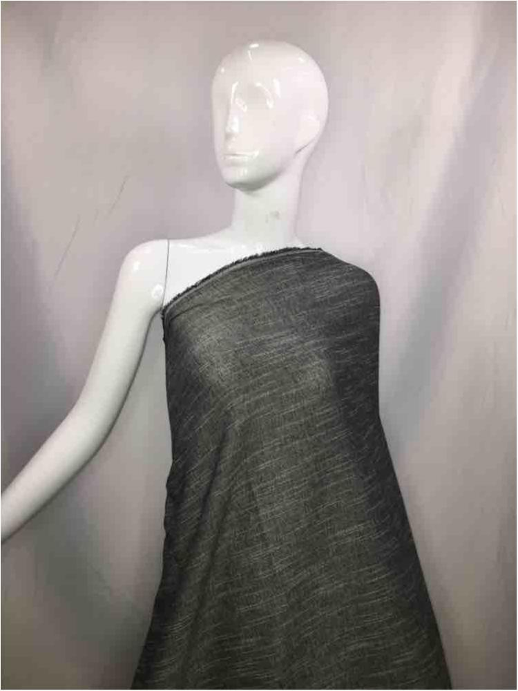 LINPR-1745 / 10.GRAY / Polyster Linen Yarn Dye