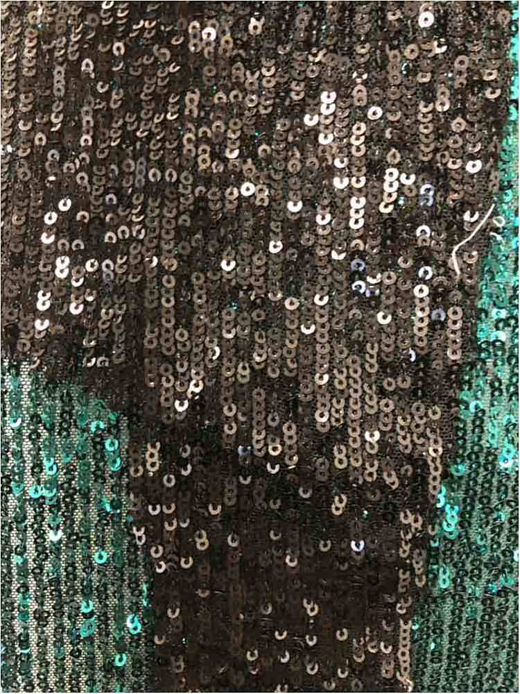 MSEQ-F191-12 / 40-BLACK / POLYESTER YARN SEQUIN EMBROIDERY