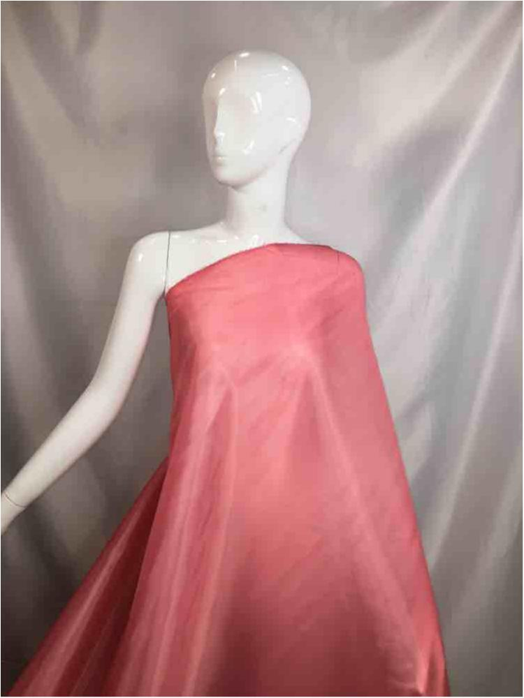 """2023 84-CORAL POLY LINING SOLID TAFFETA PINK """"56"""""""""""" """"60"""""""""""""""