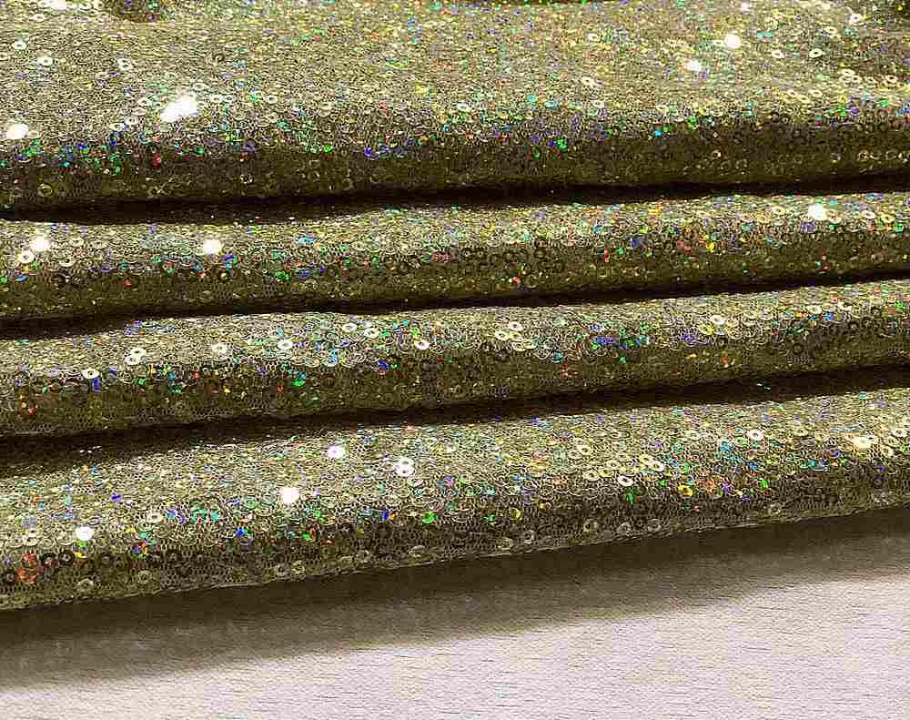 HO-MINISEQ / 128-LT. GOLD / Hologram Minisequins