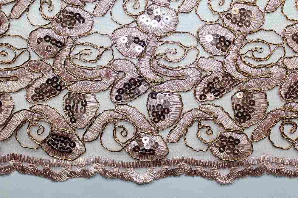 EMB-8083108 / ROSEGOLD / Embroidery