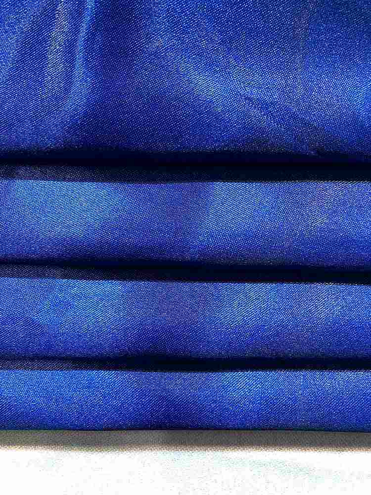 "1043 90-ROYAL MEDIUM SATIN SOLID WOVEN BLUE ""56"""""" ""60"""""""