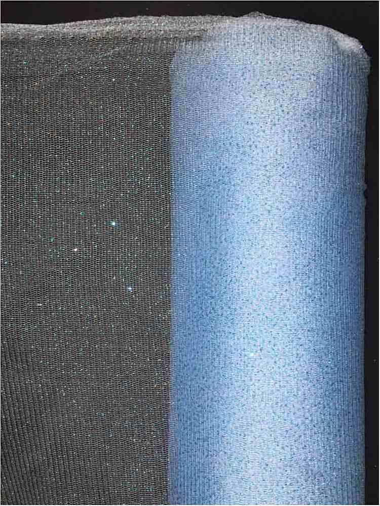 GM / 09-BABY BLUE / GLITTER MESH