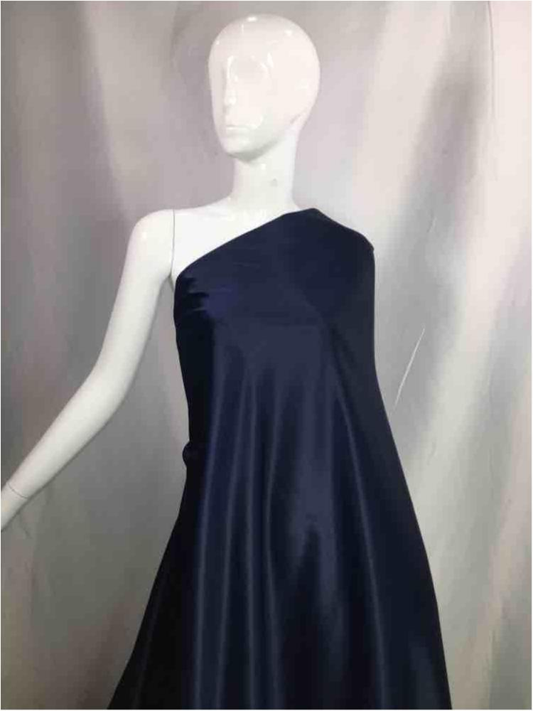 """2025 20-NAVY DULL SATIN SOLID WOVEN BLUE """"56"""""""""""" """"60"""""""""""""""
