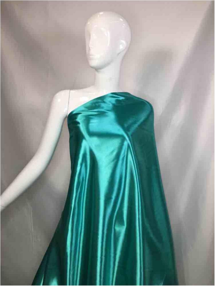 1041 / 56-TEAL / Shiny Bridal Satin 240/ Gsm
