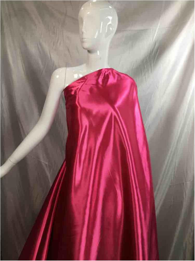 1041 / 62-FUSCHIA / Shiny Bridal Satin 240/ Gsm