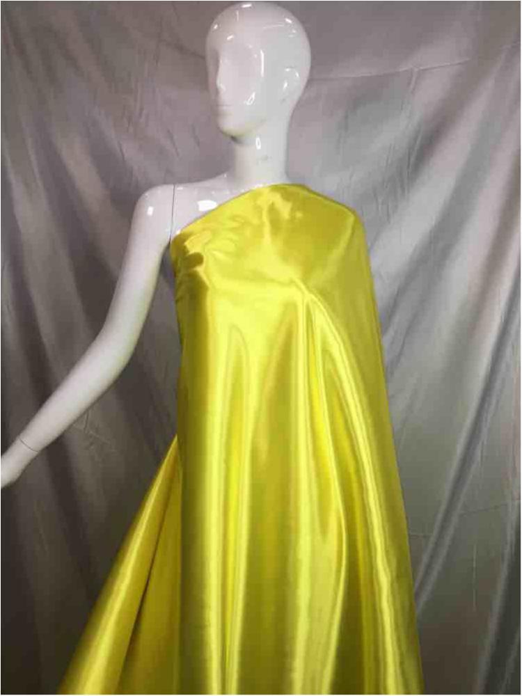 1041 / 70-LT.YELLOW / Shiny Bridal Satin 240/ Gsm