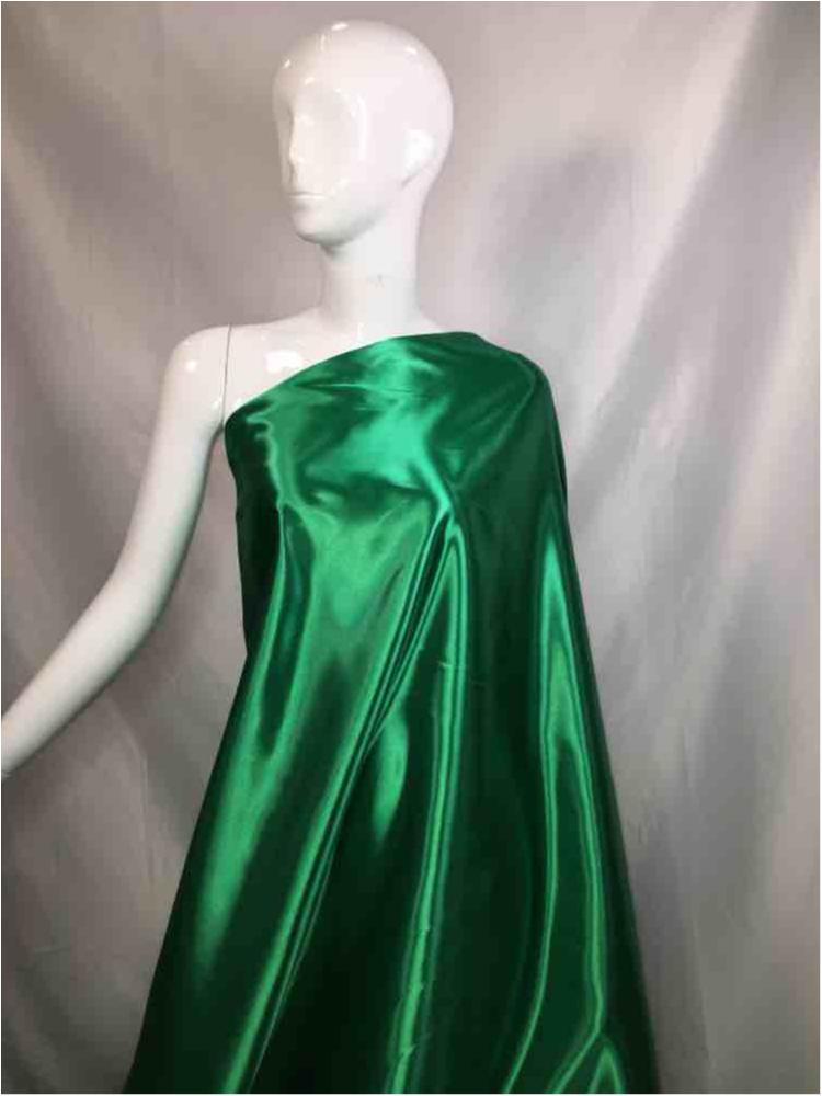 1041 / 44-KELLY GREEN / Shiny Bridal Satin 240/ Gsm