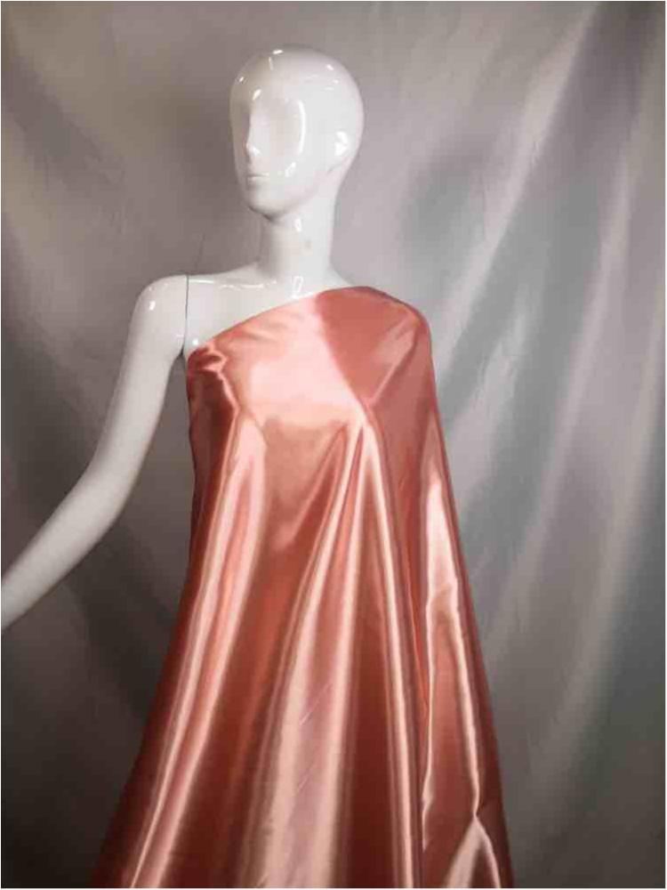 1041 / 04-LT.ROSE / Shiny Bridal Satin 240/ Gsm