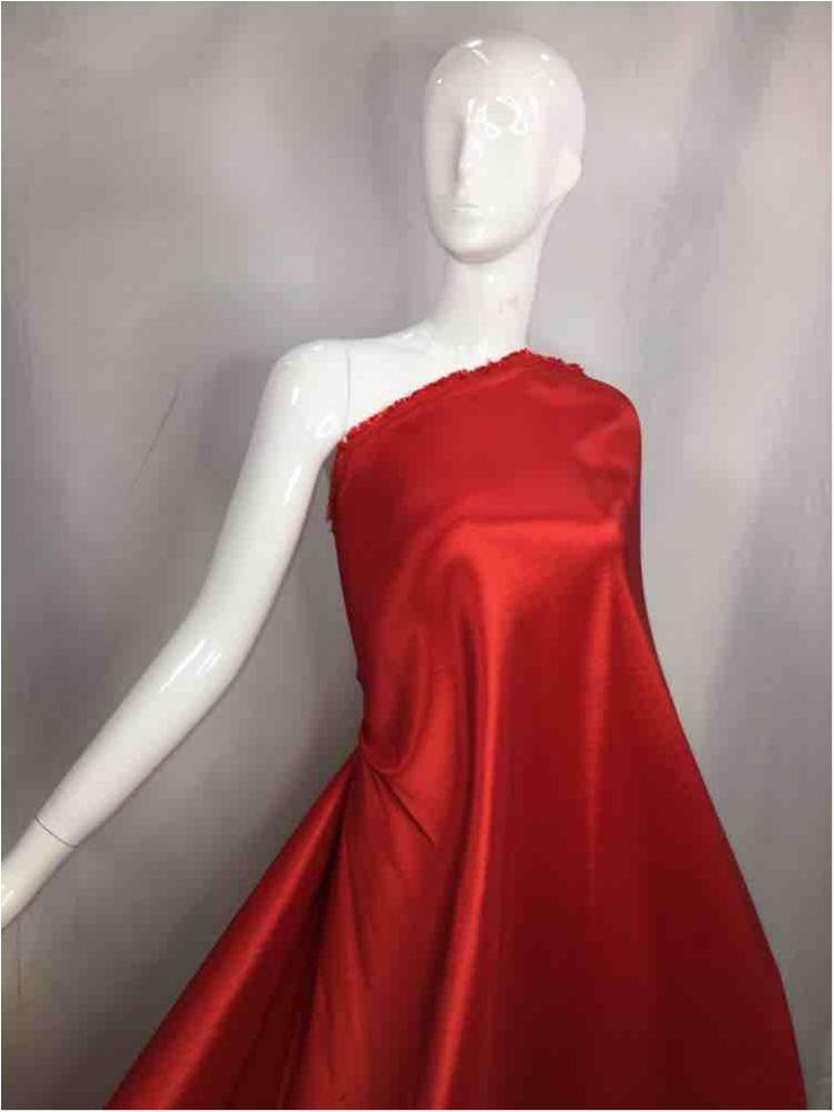 3300 / 15-RED / 65%T 30%N 5%SP STRETCH TAFFETA