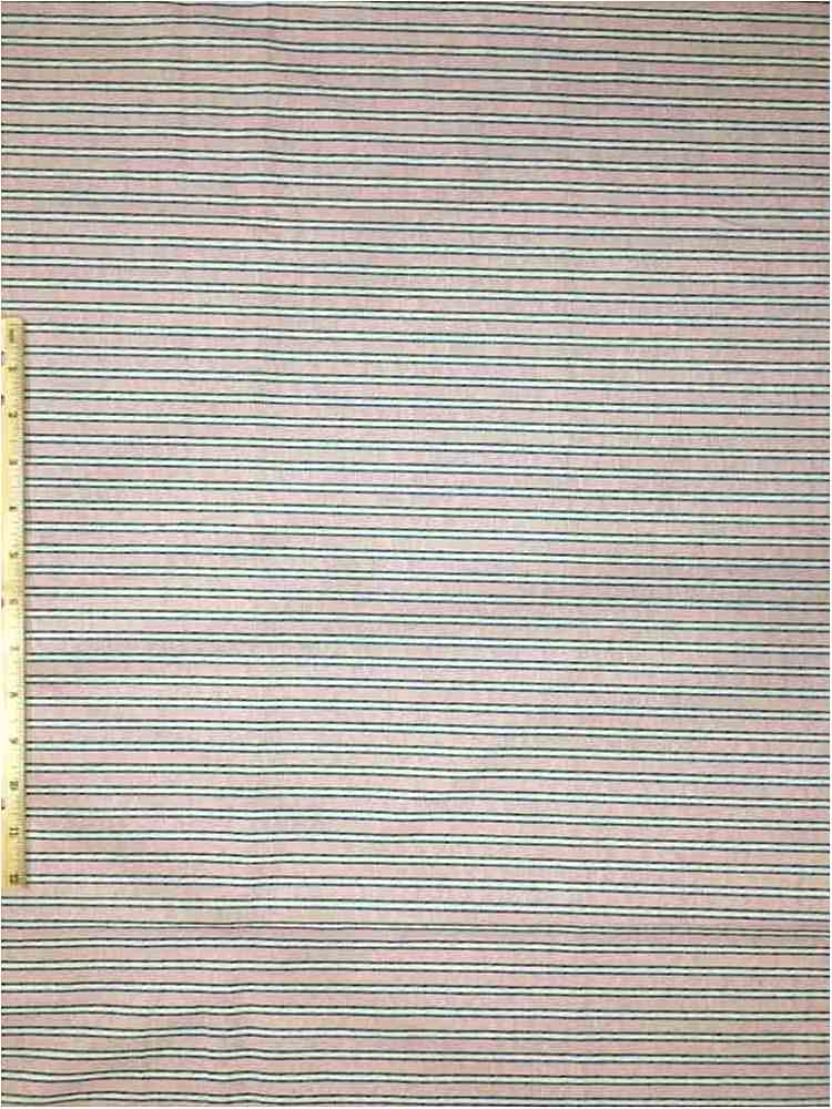 LINPR-180901D#1 / 01-ROSE / LINNEN LOOK YARN DYED FABRIC