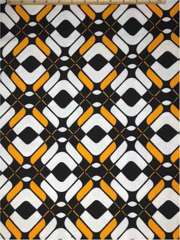 LVPR-80102308 / 02.YELLOW / 5% Spandex 95% Polyester Liverpool Print