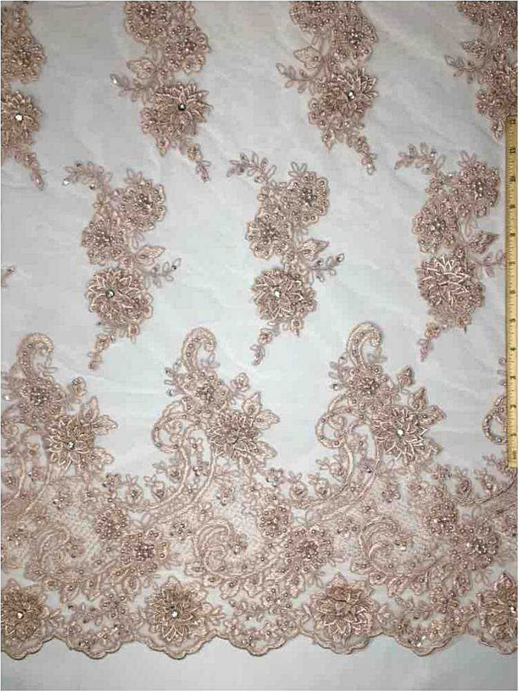 MEMB-JS7443 / 03-BLUSH / HAND BEADED EMBROIDERY