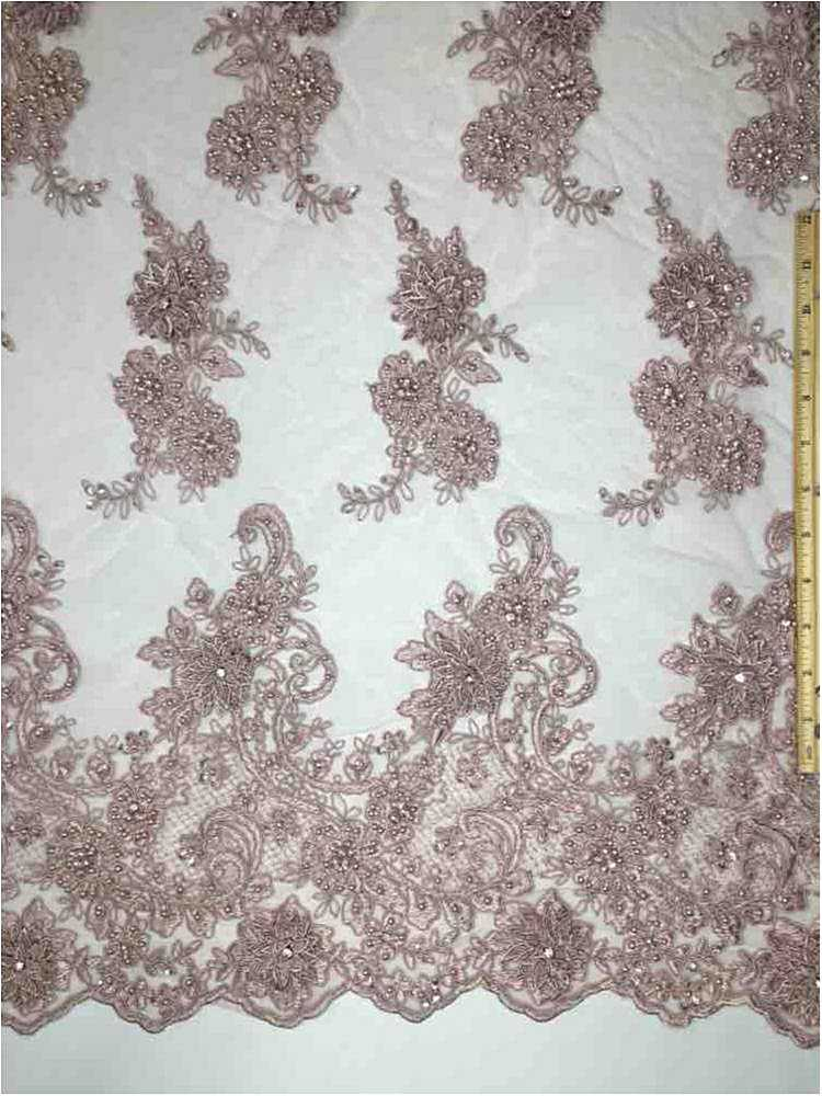 MEMB-JS7443 / 06-ROSE / HAND BEADED EMBROIDERY