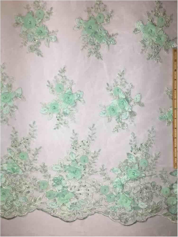 MEMB-A153681 / 02-MINT / HAND BEADED EMBROIDERY