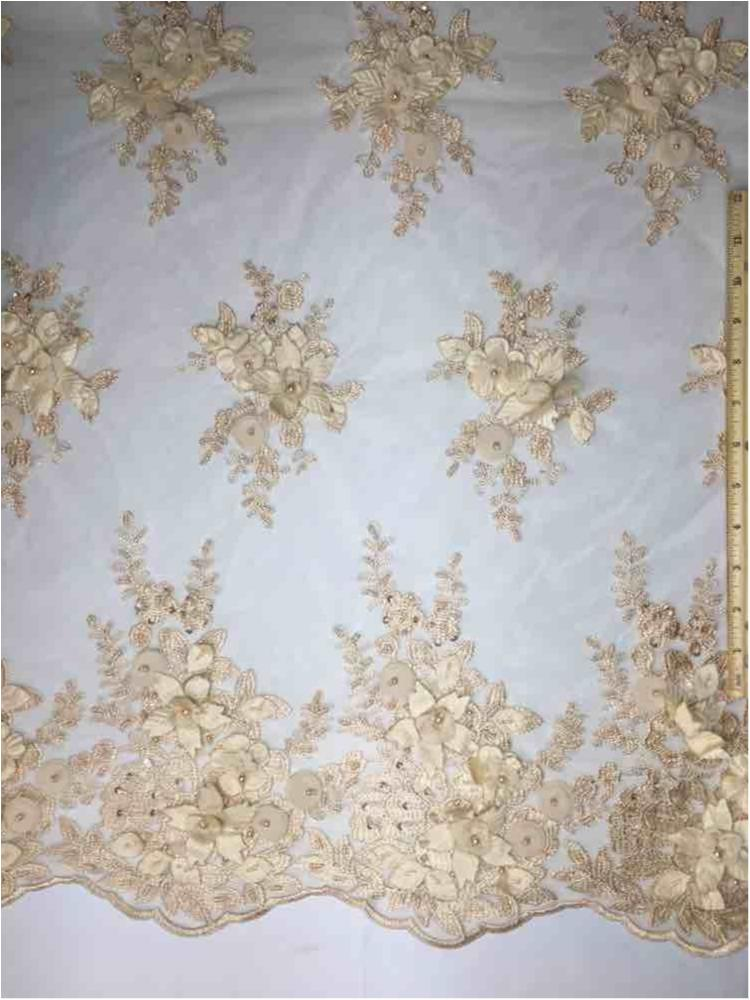 MEMB-A153681 / 10-TAUPE / HAND BEADED EMBROIDERY