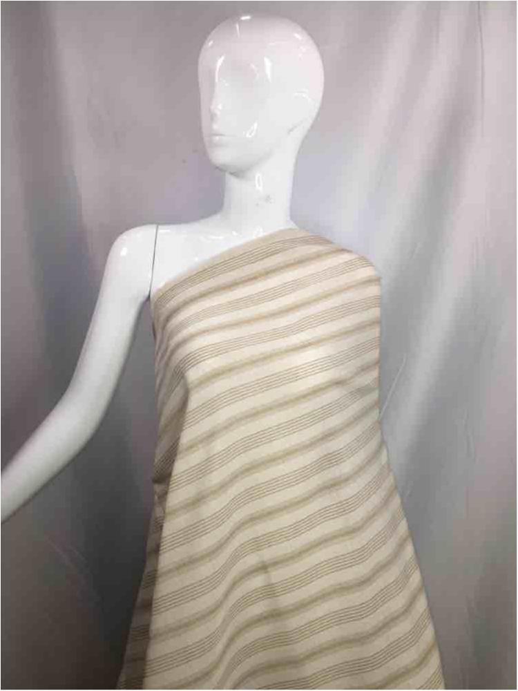 LINPR-LT102 / 09.TAUPE / Polyster Linen Yarn Dye
