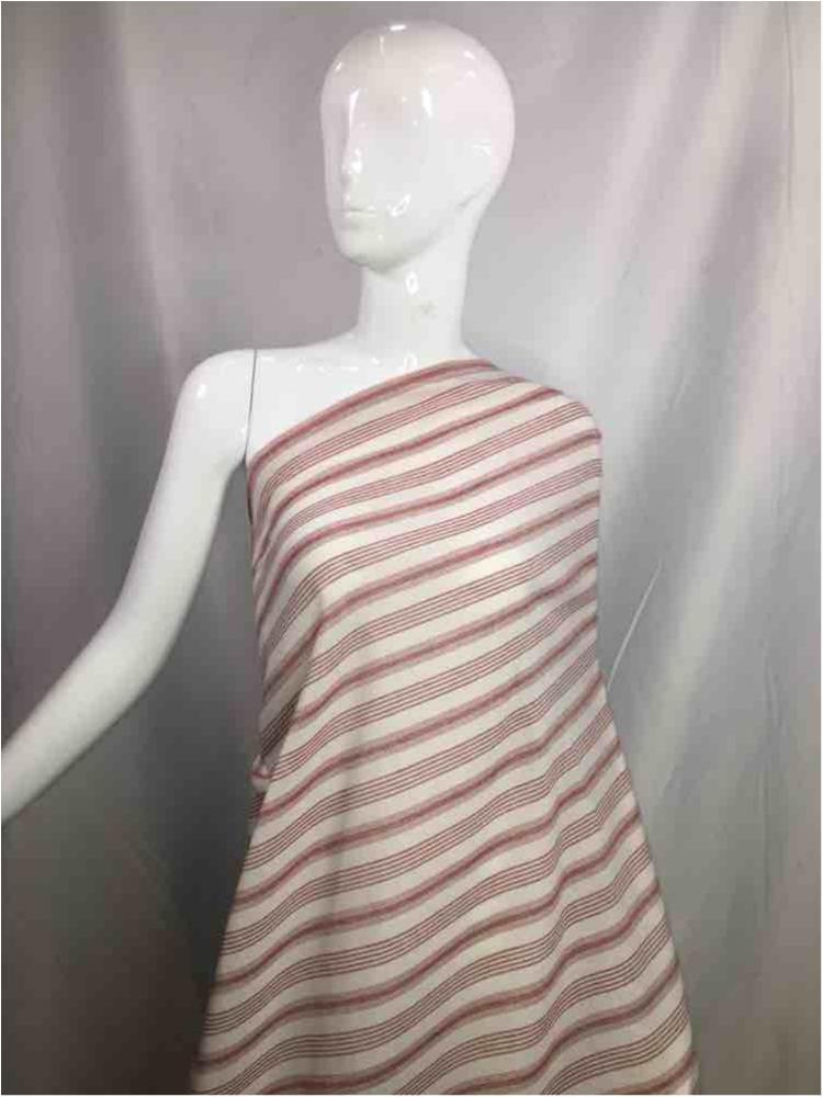 LINPR-LT102 / 10.BURGUNDY           / Polyster Linen Yarn Dye