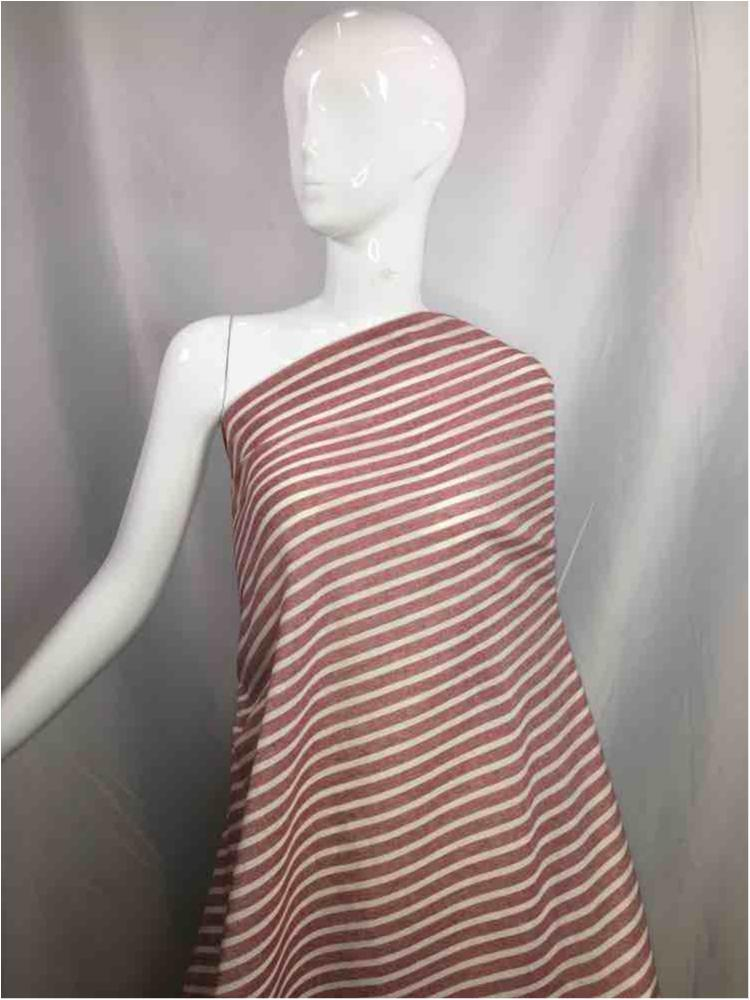 LINPR-1020 / 01.PINK / Polyster Linen Yarn Dye