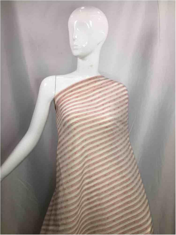 LINPR-1775 / 09.PINK / Polyster Linen Yarn Dye