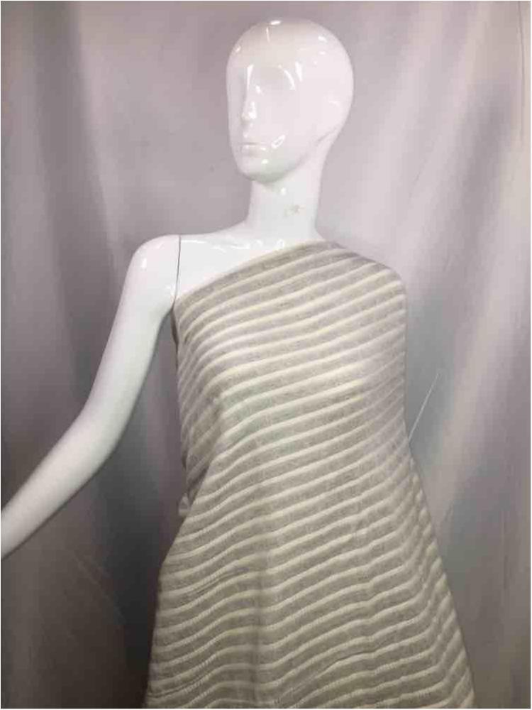 LINPR-1775 / 07.GRAY / Polyster Linen Yarn Dye