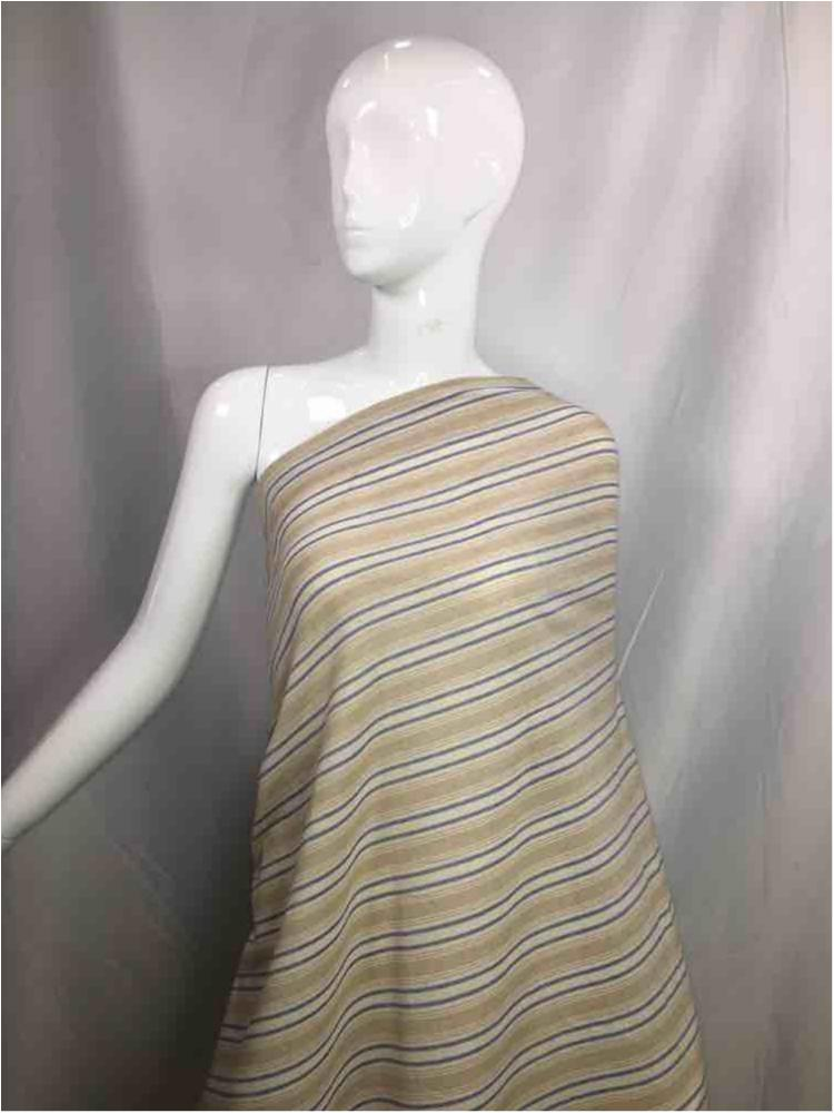 LINPR-1821 / 04.TAUPE / Polyster Linen Yarn Dye