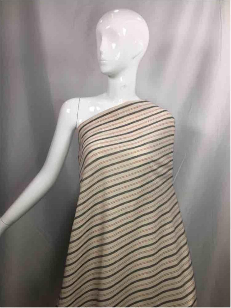 LINPR-1824 / 05.GRAY / Polyster Linen Yarn Dye
