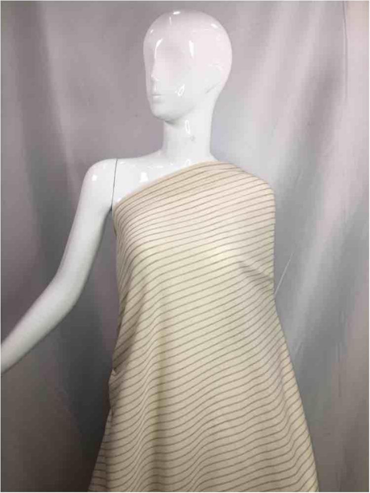 LINPR-LT101 / 09.TAUPE            / Polyster Linen Yarn Dye