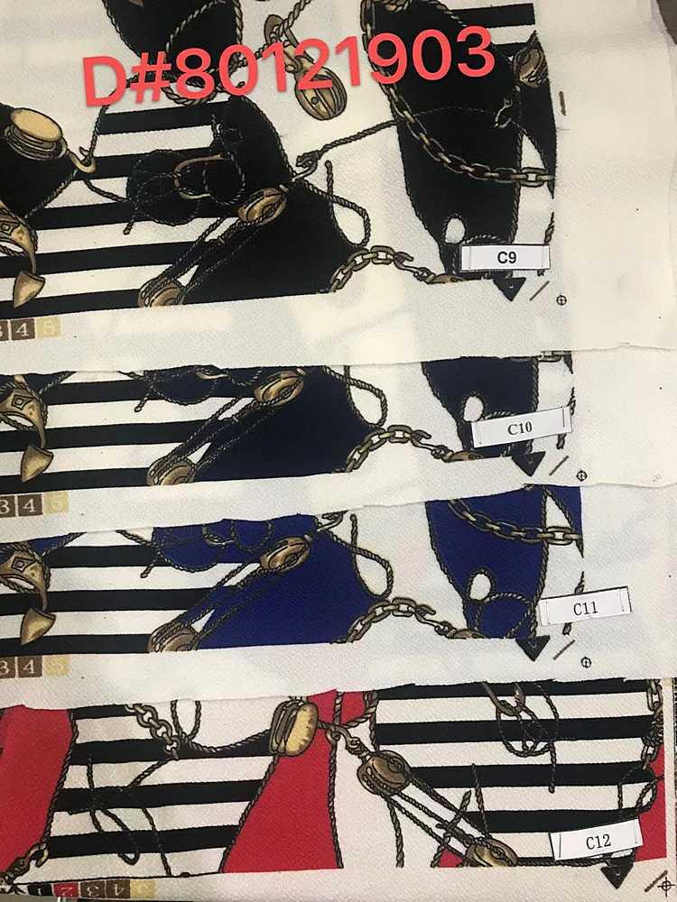 LVPR-80121903 / 09-BLACK / Poly 95% Sapandex 5% Liverpool Print