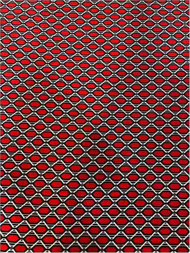 LVPR-90031114 / 01-RED / POLY 95% SPANDEX 5% LIVERPOOL PRINT